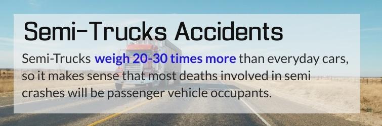 Detroit rear end truck accident