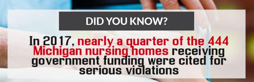 michigan nursing home stats